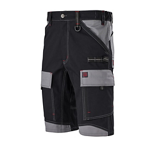Bermuda de travail Crusher Work Attitude Updated noir/gris