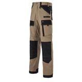 Pantalon de travail Ruler Beige/noir