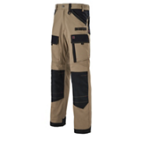 Pantalon de travail Ruler beige/noir 1ATTUP
