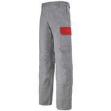 Pantalon de travail Muffler minéral/rouge