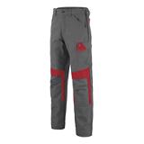 Pantalon MUFFLER 1COLUP - Charcoal/Rouge