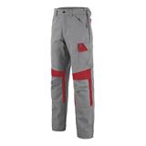 Pantalon MUFFLER 1COLUP - Mineral gris/Rouge