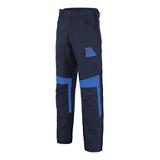 Pantalon MUFFLER 1COLUP - Bleu marine/Bleu azur