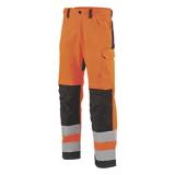Pantalon de travail Star orange fluo/noir