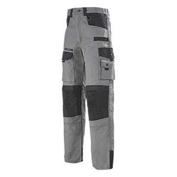 Pantalon de travail gris/noir Spanner Work Attitude Lafont