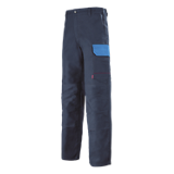 Pantalon de travail Muffler marine/azur