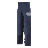Pantalon de travail muffler marine/minéral