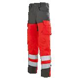 Pantalon rouge fluo/ charcoal Pupil