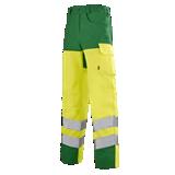 Pantalon de travail Iris 82cm jaune fluo/ vert alpin