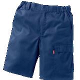 Bermuda de travail Iolite bleu marine