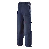 Pantalon de travail Basalte bleu marine