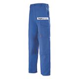 Pantalon de travail coton-polyester bugatti Basalte EJ 82 cm logo Hager