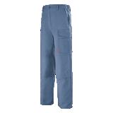 Pantalon de travail bleu pétrole Basalte
