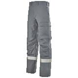 Pantalon multirisques gris acier Titan