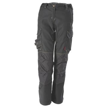 Pantalon stretch femme Ituha gris charbon Lafont