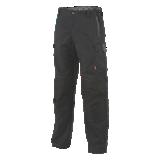 Pantalon de travail stretch Hakan noir