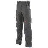 Pantalon de travail stretch Hakan gris carbone