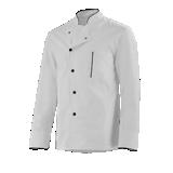 Veste de cuisine blanc/noir mixte Alain