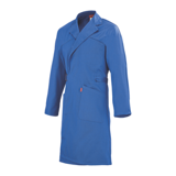 Blouse de travail bleue croisée Blue