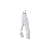 Cotte à bretelles basic - Blanc