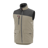 Body warmer HAMMER 9ATHUP - Beige/Charcoal