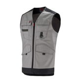 Gilet de travail Trowel Work Attitude Updated gris/noir