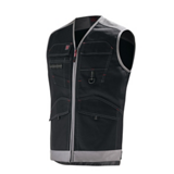 Gilet de travail Trowel Work Attitude Updated noir/gris