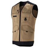 Gilet de travail Trowel Work Attitude Updated beige/noir