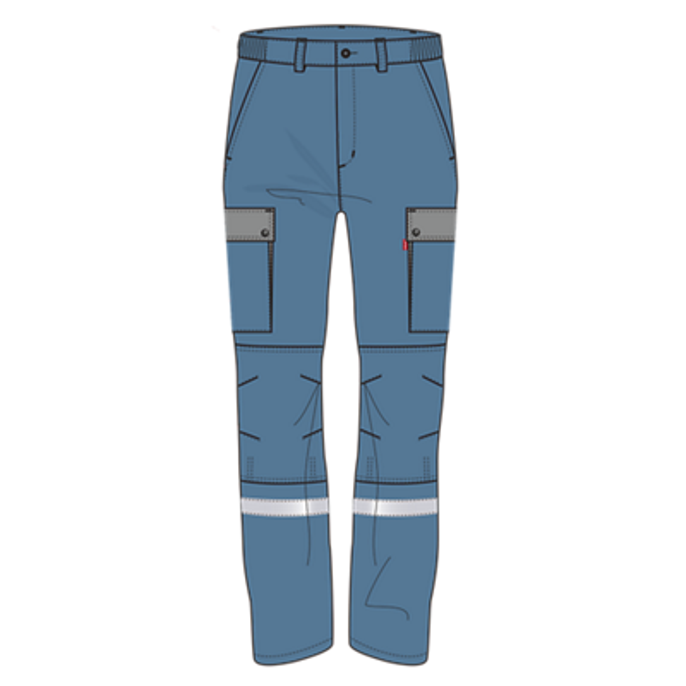 Pantalon P80416B1 Akka - Bleu pétrole/Gris acier Lafont