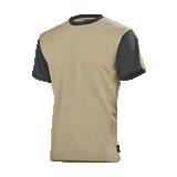 Tee-shirt de travail Flange Beige/noir