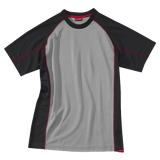Tee-shirt de travail gris/noir Shaper Work Attitude