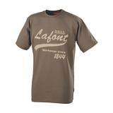 Tee-shirt manches courtes Nikan marron havane