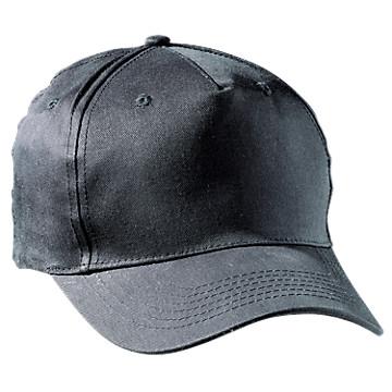 Casquette coton noir GPTF3018 Lafont