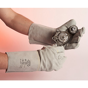 Gants soudure croûte bovin 15 cm ANTDI/15/DA Lebon protection