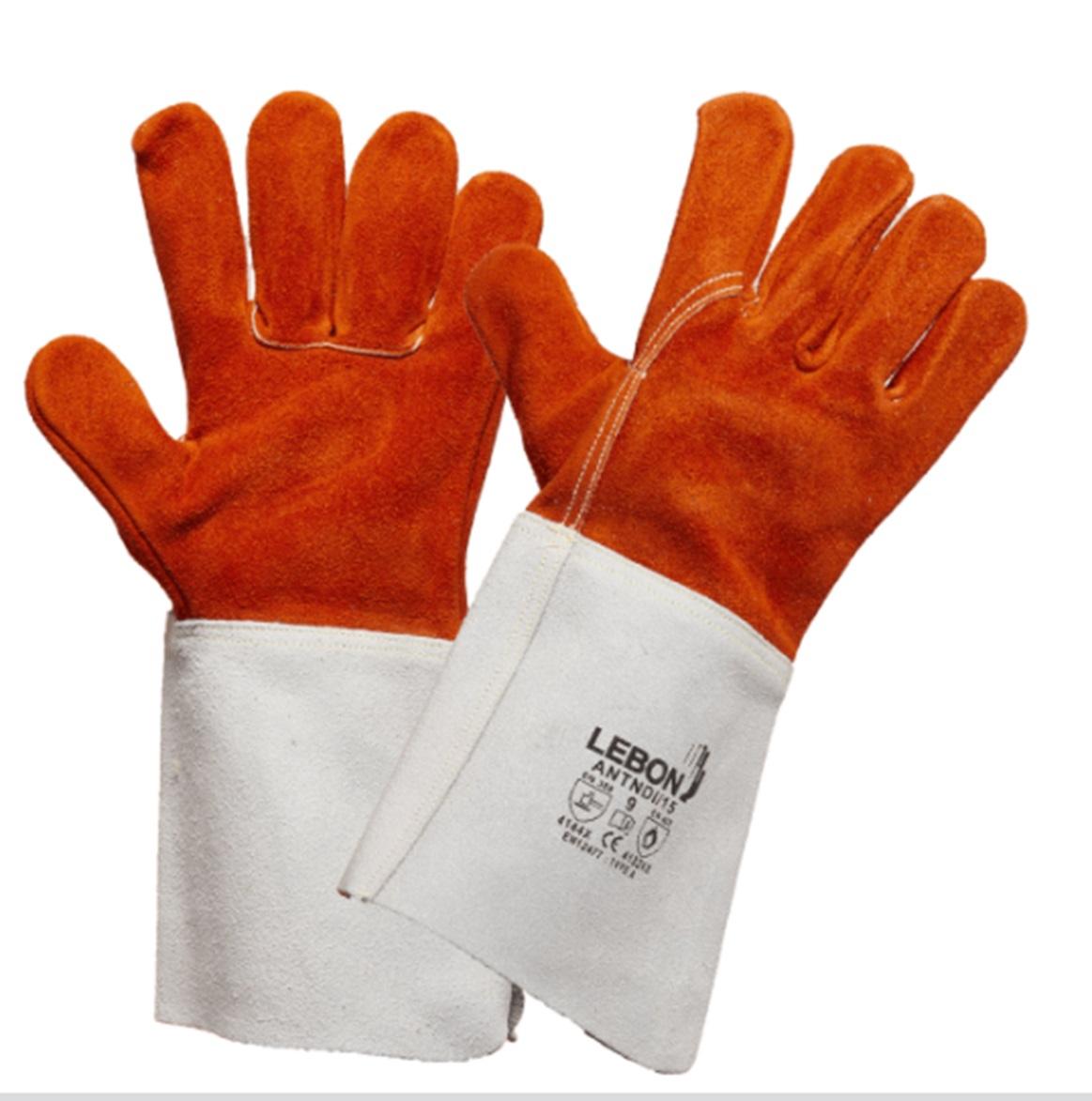Gants de soudeur ANTNDI/15 - Traité anti-chaleur Lebon Protection