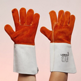 Gants de soudeur en cuir croûte ANTNDI/15 - Traité anti-chaleur