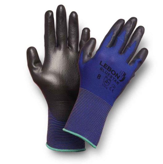 Gants Bluestar - Bleu/Noir Lebon Protection