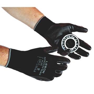 Gants de travail Nitriflex black Lebon protection