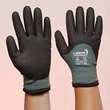 Gants antifroid Wintersafe - Noir/gris