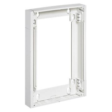 Rehausse ép 50 mm - pour coffret Ekinoxe 2 x 13 mod - blanc RAL 9010 Legrand