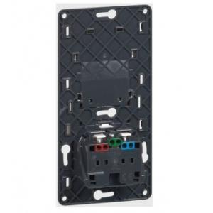 Céliane - Mécanisme - Prise courant fort + chargeur universel USB Legrand