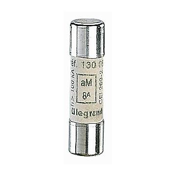 Cartouche industrielle cylindrique 10 x 38 aM HPC Legrand