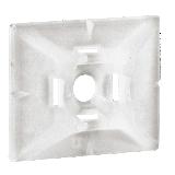 Embase adhésive pour collier de câblage Colring 4,6 mm