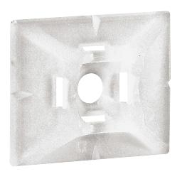Embase adhésive pour collier de câblage Colring 4,6 mm Legrand