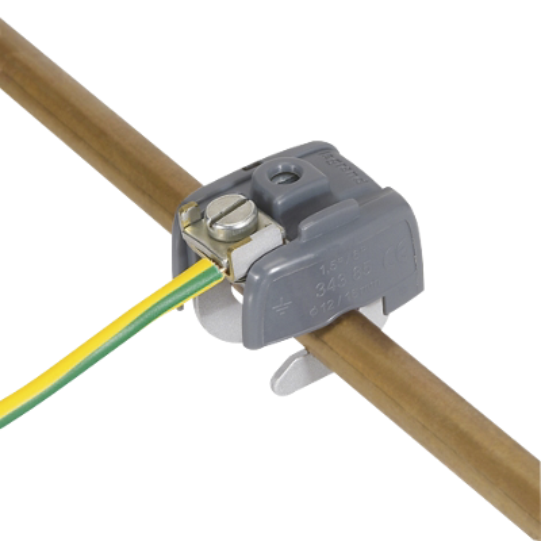 Connecteur liaison équipotentielle Legrand