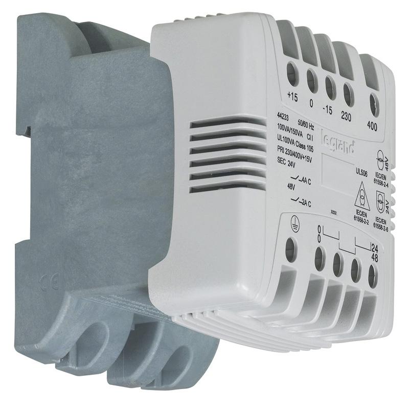 Transformateur de commande et séparation des circuits Legrand
