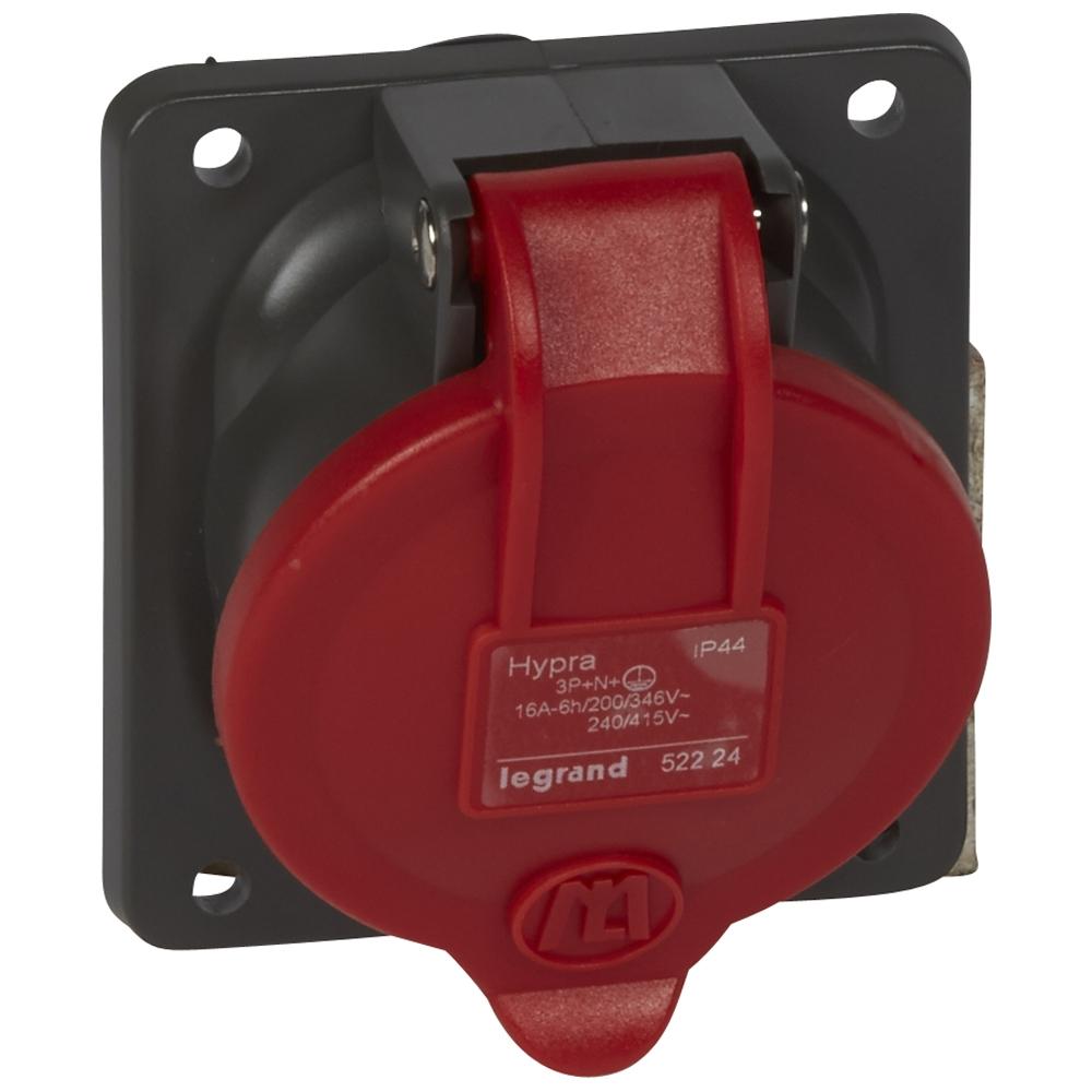 Socle tableau Hypra rouge IP44 Legrand