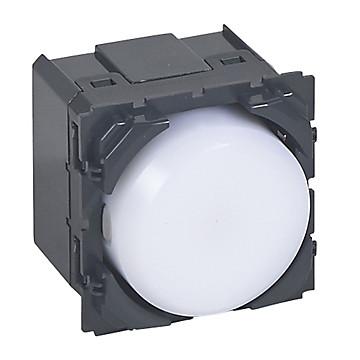 Céliane - Mécanisme + enjoliveur - Lampe autonome débrochable Legrand