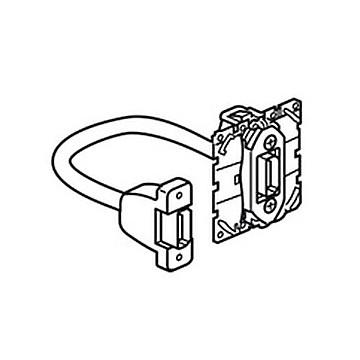 Prise audio/vidéo HDMI type A Céliane - pré-connectorisée LEGRAND