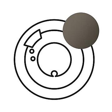 Céliane - Enjoliveur graphite - Commande confort LEGRAND